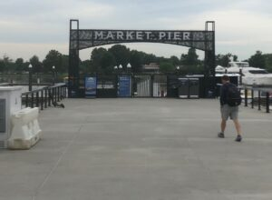 market pier, wharf