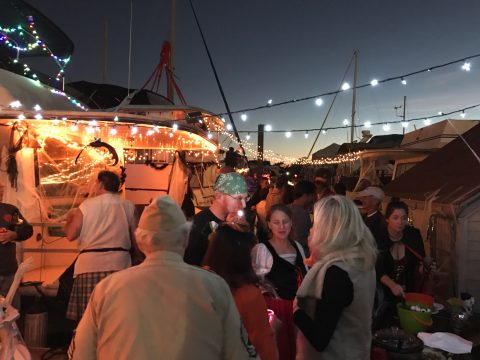A Look at Boatlife at the Gangplank Marina at DC Wharf