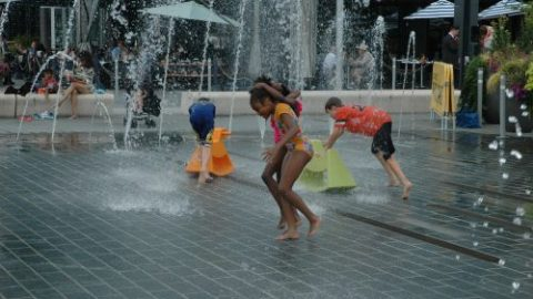 What to Do with Kids When it is HOT at The Wharf