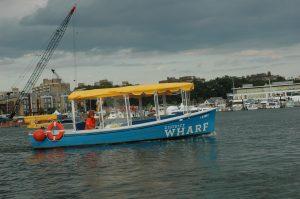 Wharf jitney