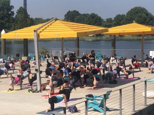 Yoga at The Wharf