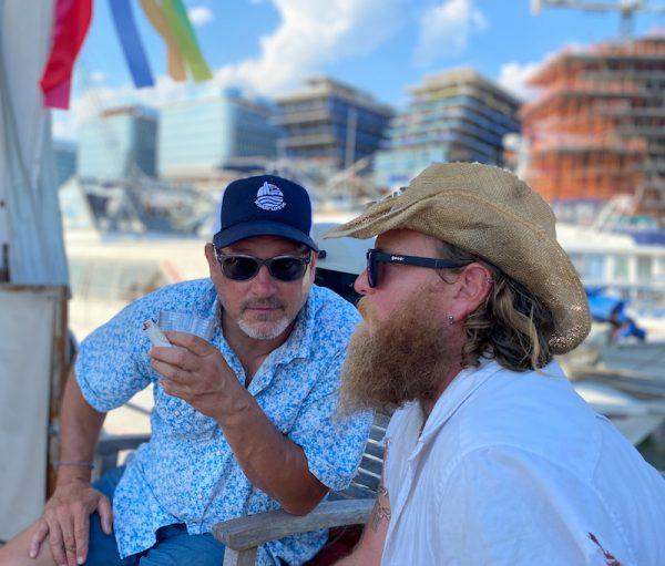 Wharf Life DC hat